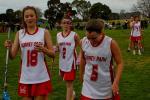 Laura Mounsey (18), Stephanie Cody (5) & Tayla McAuliffe